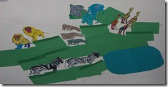 African Savannah Classroom Display