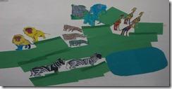 African Savannah Classroom Display