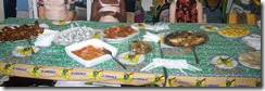 Buffet of Foods from the Democratic Republic of Congo
