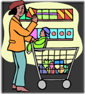 Use Shoping Trips to Teach Observation Skills