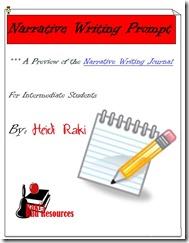Narrative Writing Prompt - Writing Proccess - Free