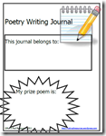 Poetry Writing Journal on Teachers Pay Teachers
